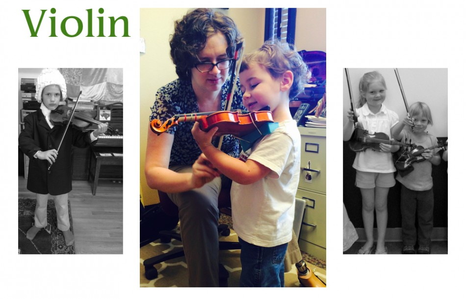Eugene Suzuki Violin Lessons with Jodie St. Clair