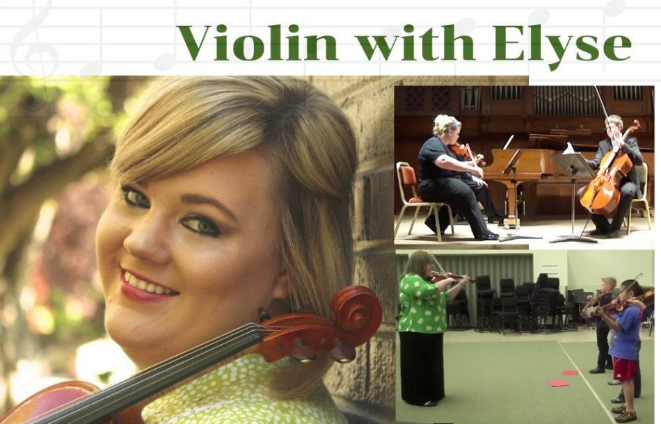Eugene Suzuki Violin Lessons with Elyse M. Walters